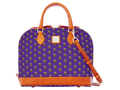 Minnesota Vikings Dooney & Bourke Zip Zip Satchel