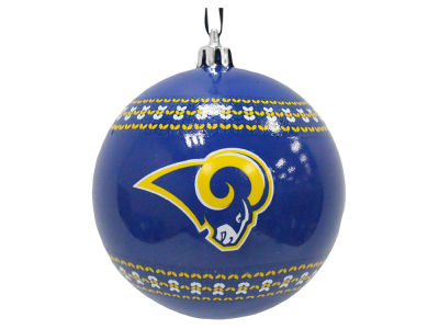 "Los Angeles Rams 3"" Ugly Sweater Ornament"
