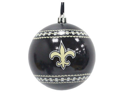 "New Orleans Saints 3"" Ugly Sweater Ornament"