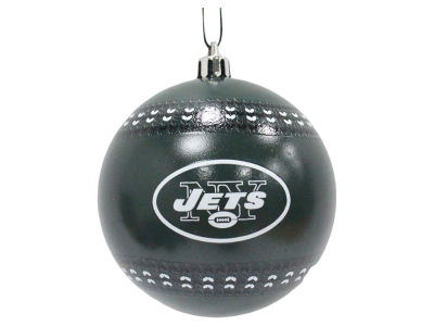 "New York Jets 3"" Ugly Sweater Ornament"