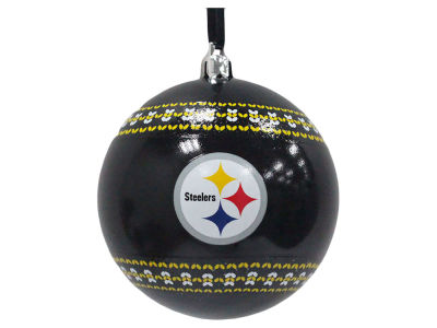 "Pittsburgh Steelers 3"" Ugly Sweater Ornament"
