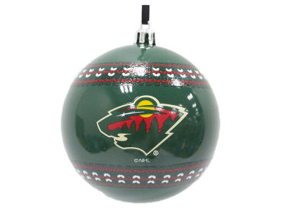"Minnesota Wild 3"" Ugly Sweater Ornament"