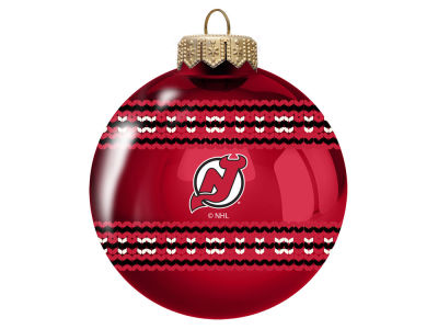 "New Jersey Devils 3"" Ugly Sweater Ornament"