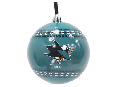 "San Jose Sharks 3"" Ugly Sweater Ornament"