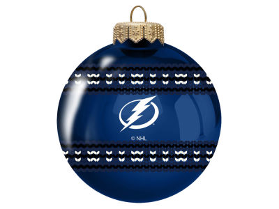 "Tampa Bay Lightning 3"" Ugly Sweater Ornament"