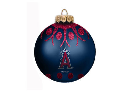 "Los Angeles Angels 4"" Glitter Ornament"