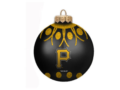 "Pittsburgh Pirates 4"" Glitter Ornament"