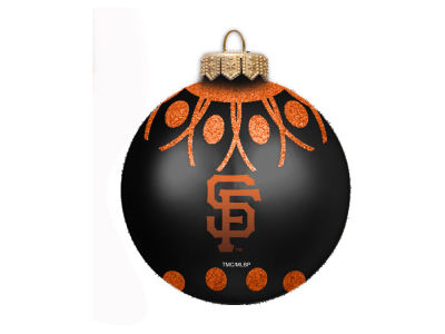 "San Francisco Giants 4"" Glitter Ornament"