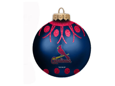 "St. Louis Cardinals 4"" Glitter Ornament"