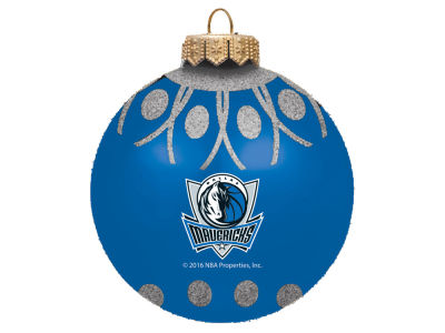 "Dallas Mavericks 4"" Glitter Ornament"