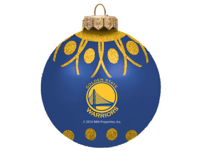"Golden State Warriors 4"" Glitter Ornament"