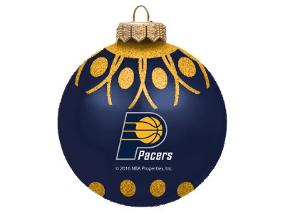 "Indiana Pacers 4"" Glitter Ornament"