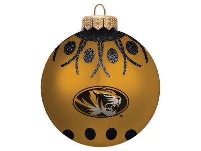 "Missouri Tigers 4"" Glitter Ornament"