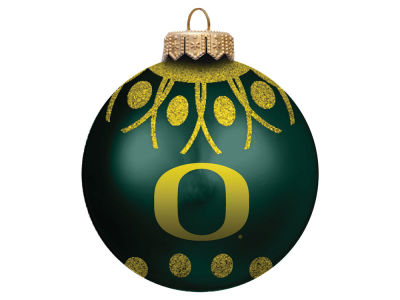 "Oregon Ducks Memory Company 4"" Glitter Ornament"
