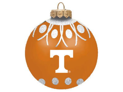"Tennessee Volunteers 4"" Glitter Ornament"