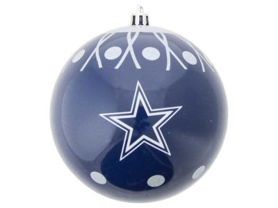 "Dallas Cowboys 4"" Glitter Ornament"