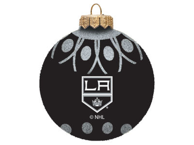 "Los Angeles Kings 4"" Glitter Ornament"