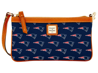 New England Patriots Dooney & Bourke Large Wristlet
