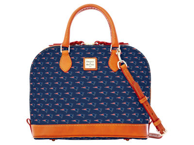 New England Patriots Dooney & Bourke Zip Zip Satchel
