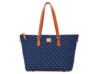 New England Patriots Dooney & Bourke Zip Top Shopper