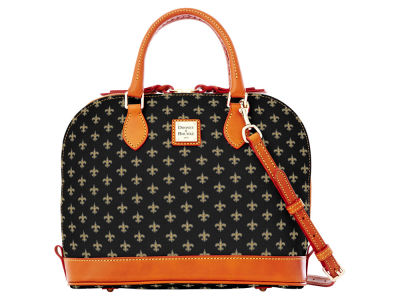 New Orleans Saints Dooney & Bourke Zip Zip Satchel