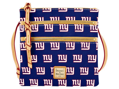 New York Giants Dooney & Bourke Triple Zip Crossbody Bag