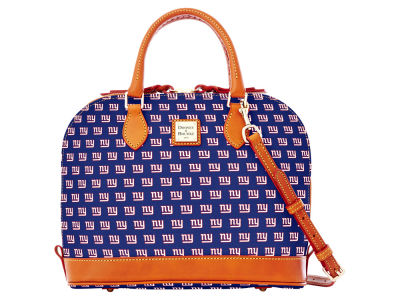 New York Giants Dooney & Bourke Zip Zip Satchel