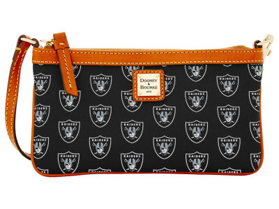 Oakland Raiders Dooney & Bourke Large Wristlet