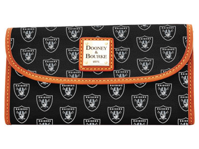Oakland Raiders Dooney & Bourke Continental Clutch