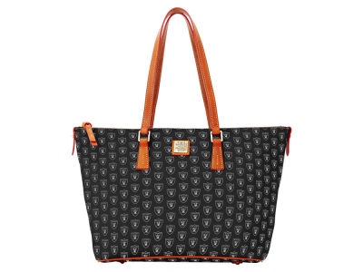 Oakland Raiders Dooney & Bourke Zip Top Shopper