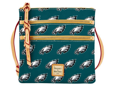 Philadelphia Eagles Dooney & Bourke Triple Zip Crossbody Bag
