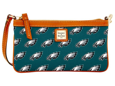 Philadelphia Eagles Dooney & Bourke Large Wristlet