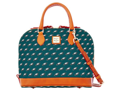 Philadelphia Eagles Dooney & Bourke Zip Zip Satchel
