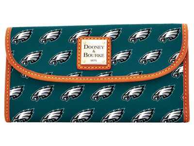 Philadelphia Eagles Dooney & Bourke Continental Clutch