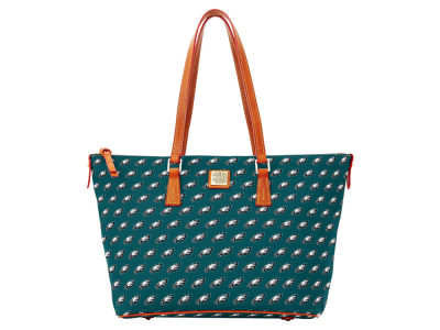 Philadelphia Eagles Dooney & Bourke Zip Top Shopper