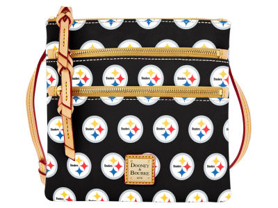 Pittsburgh Steelers Dooney & Bourke Triple Zip Crossbody Bag