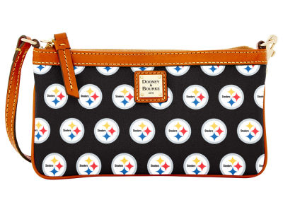 Pittsburgh Steelers Dooney & Bourke Large Wristlet