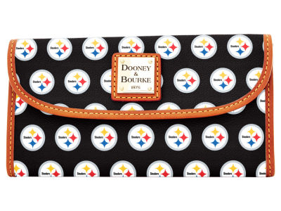 Pittsburgh Steelers Dooney & Bourke Continental Clutch