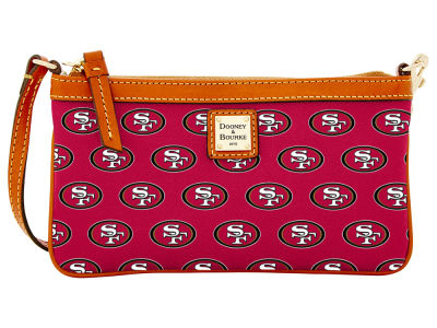 San Francisco 49ers Dooney & Bourke Large Wristlet
