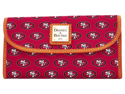 San Francisco 49ers Dooney & Bourke Continental Clutch