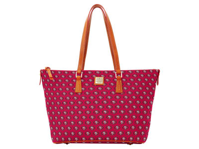 San Francisco 49ers Dooney & Bourke Zip Top Shopper