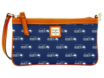 Seattle Seahawks Dooney & Bourke Large Wristlet