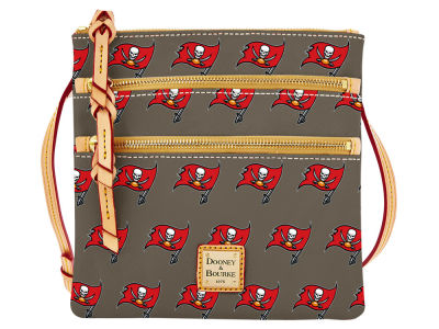 Tampa Bay Buccaneers Dooney & Bourke Triple Zip Crossbody Bag