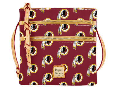 Washington Redskins Dooney & Bourke Triple Zip Crossbody Bag