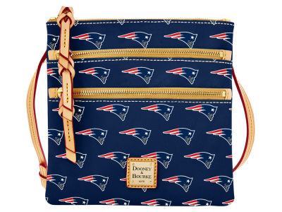 New England Patriots Dooney & Bourke Triple Zip Crossbody Bag