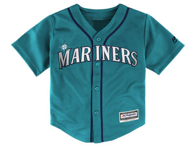 Seattle Mariners Majestic MLB Kids Blank Replica Cool Base Jersey