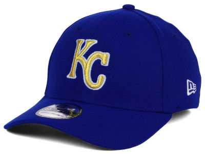 Kansas City Royals New Era MLB 2015 World Series Commemorative Gold AC 39THIRTY Cap