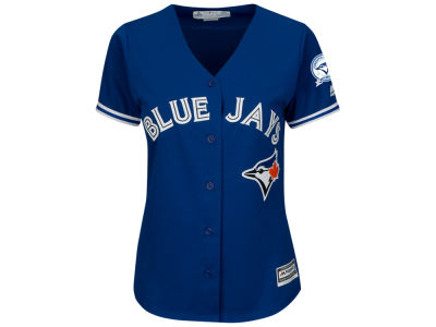 Toronto Blue Jays Majestic MLB Women's Cool Base 40th Season Jersey