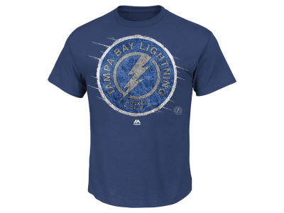 Tampa Bay Lightning Majestic NHL Men's Pond Hockey T-shirt