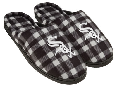Chicago White Sox Flannel Cup Sole Slippers Boxed